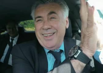 Ancelotti presume de hablar alemán anteRummenigge