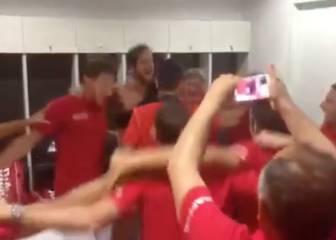 ¡Locura en el vestuario con la victoria de Feliciano López!