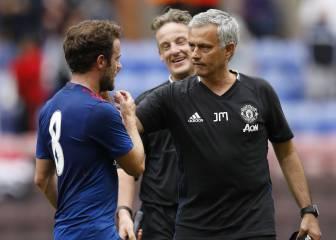 Mourinho se estrena con victoria ante el Wigan