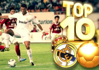Los 10 mejores goles del Real Madrid en pretemporada