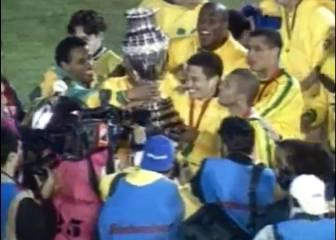 A 17 años del título brasileño de Copa América ante Uruguay