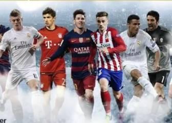 7 de LaLiga entre los mejores de la UEFA... ¿y Neymar?