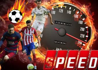 ¡A todo gas! El 11 más rápido posible de los cracks del fútbol