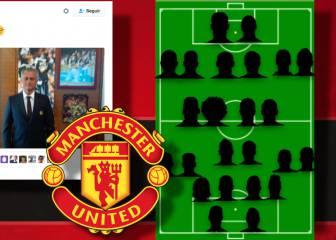 La plantilla de Mourinho según la pizarra de su despacho