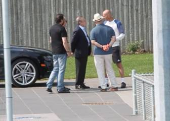 Charla entre Florentino y Zidane en Montreal