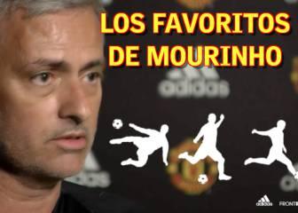 ¿Quiénes son los 3 jugadores favoritos de Mourinho?