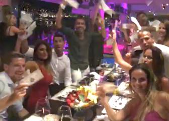 Cristiano, felicidad infinita en el último boomerang de Ibiza