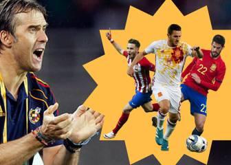 9 'beneficiados' por la llegada de Lopetegui a la Selección