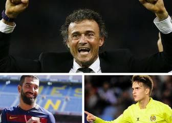 Las variantes de Luis Enrique para el ataque del Barça