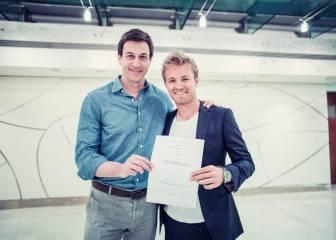 Nico Rosberg renueva con Mercedes hasta 2018