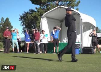 La última de Stephen Curry: el crack se pasa al golf