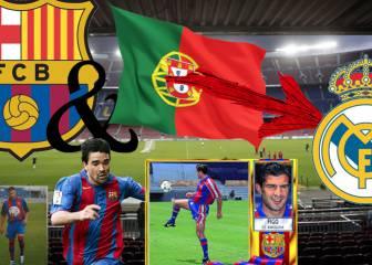 Grandes humillaciones de los portugueses culés al Madrid