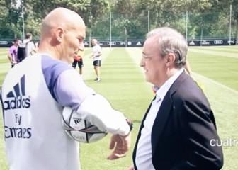 Confesión de Florentino a Zidane: