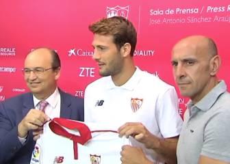 El Sevilla presenta a su nuevo jugador: Franco Vázquez