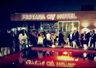 Cristiano estrena su hotel en Funchal con fuegos artificiales