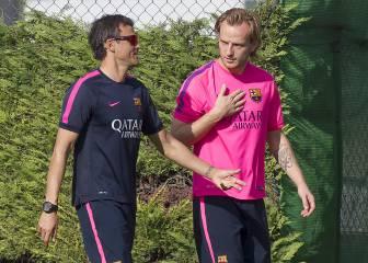 El Barcelona trabajó a la espera del regreso de Messi