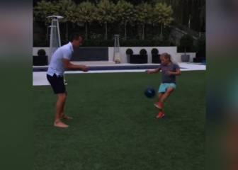 ¿Es la hija de John Terry una futura promesa del fútbol?