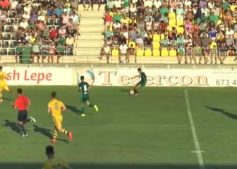 Piccini sigue con la moda del verano: gol desde 50 metros