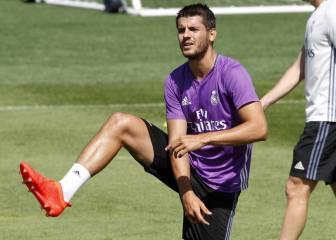 El homenaje del Madrid a Morata por su vuelta