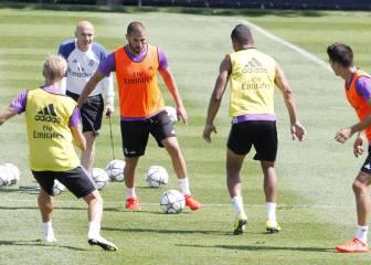 Zidane prepara la Supercopa con la dupla Benzema-Morata
