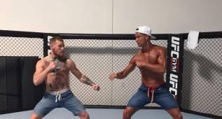 Cristiano reta a McGregor en un ring de Las Vegas