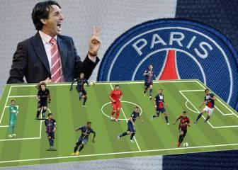 El XI del PSG con el que Emery quiere asombrar a Europa