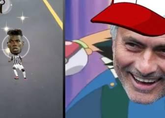 ¡Mourinho cae en la fiebre Pokémon Go y caza a Pogba!