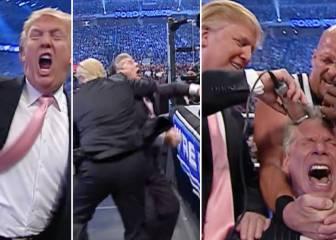 El día que Donald Trump luchó en Pressing Catch: ¡Qué show!