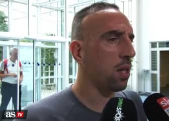 Ribéry le lanza una dura indirecta a Pep Guardiola