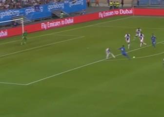 Conexión Özil-Benzema que aplastó al PSG en un amistoso