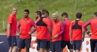 El Barcelona prepara su primer partido de pretemporada