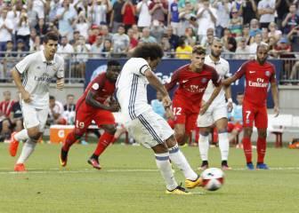 Resumen y goles del Real Madrid-PSG de ICC
