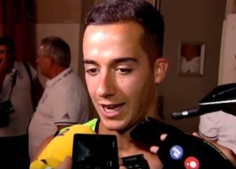 Lucas Vázquez da la cara después de la derrota