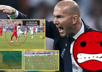 Zidane no perdonará a su zaga estos 4 fallos en la Champions