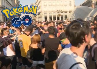 Pokemón Go batió el récord con 3.000 personas en Sol