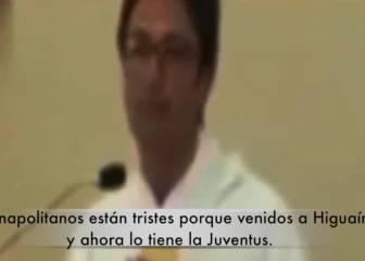 El sacerdote que sacó la cara por Higuaín en plena misa