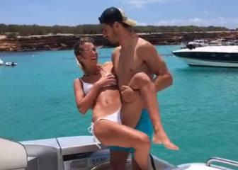 ¡Precioso! Idílicas vacaciones de Álvaro Morata con su novia
