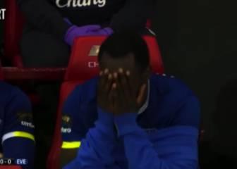 El susto de Lukaku al oír el nombre de Roberto Martínez