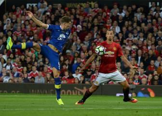 Ibra se quedó con las ganas de marcar su gol en Old Trafford
