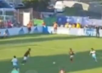¿Jugó Coke con el cruzado roto el último minuto del partido?