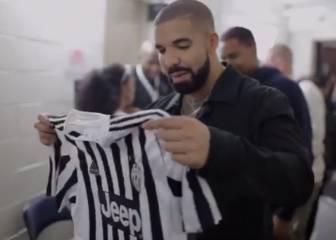 Pogba a lo suyo: le regala una camiseta de la Juve a Drake