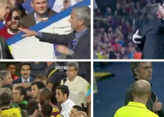Las broncas más sonadas del polémico José Mourinho