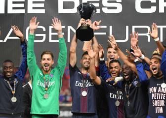 El PSG de Unai Emery gana la Supercopa frente al Olympique