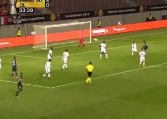 Ben Afra desempolva la escuadra tras pase de Di María