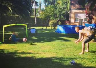 Iker Muniain explota su nueva faceta como entrenador