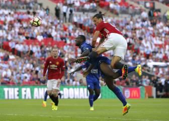 Ibrahimovic fue el jefe: vean su gol decisivo ante el Leicester