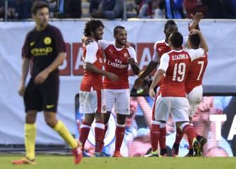 El Arsenal saca a relucir las carencias defensivas del City