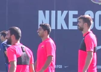 El chiste de Piqué sobre los nuevos André Gomes y Umtiti