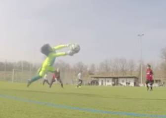 ¿El portero del futuro? Dicen que mejora a Neuer con 7 años