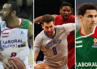 Los tres jugones de NBA con los que se refuerza Baskonia